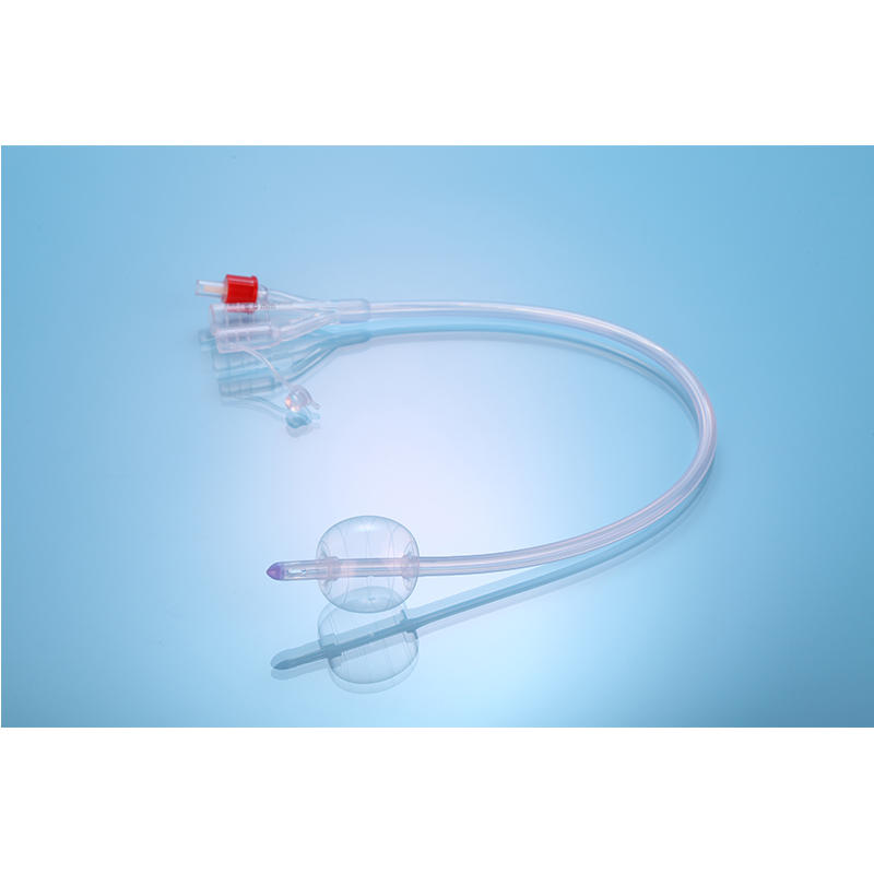 3 Way SIlicone Foley Catheter
