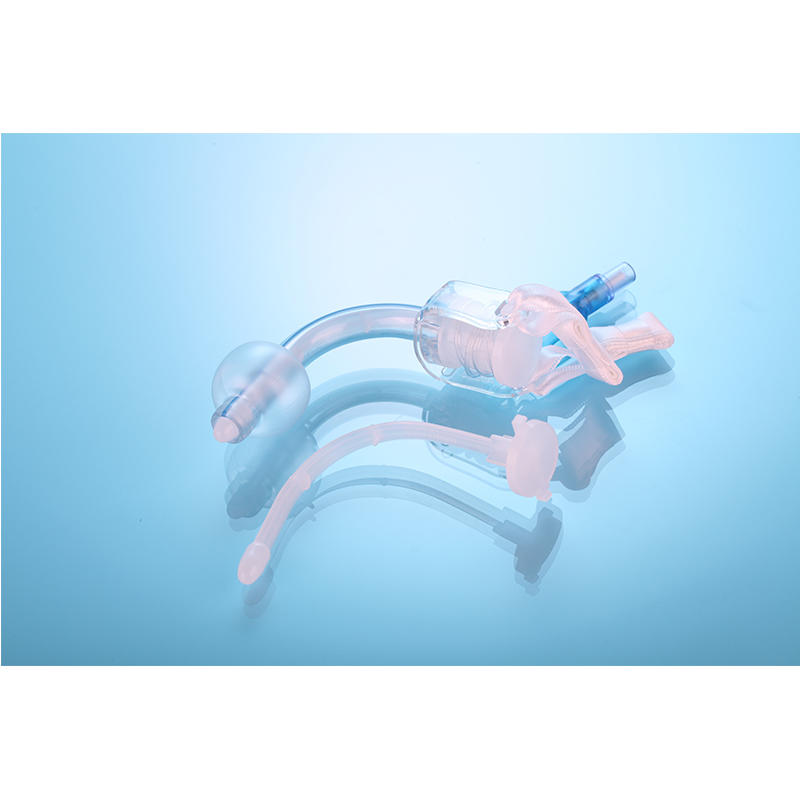 cuffed/uncuffed disposable tracheotomy tube