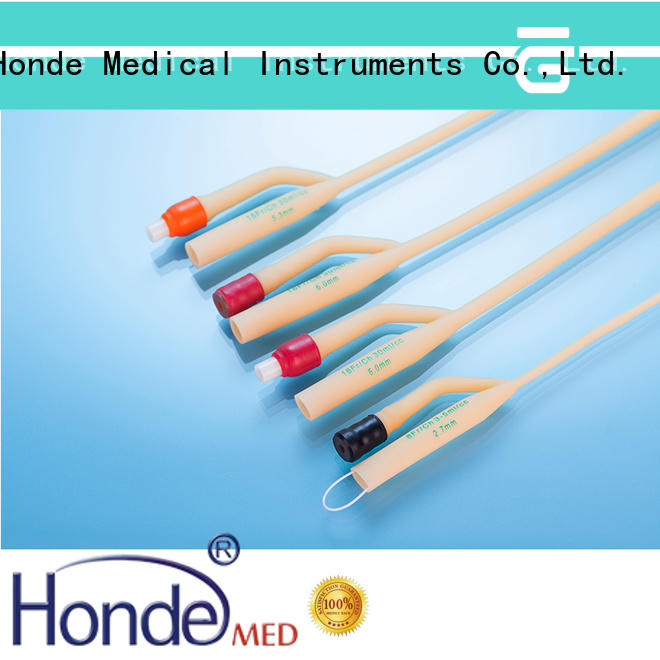 Honde hddis016f latex foley catheter supply for clinic