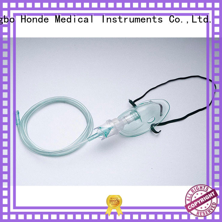 Honde discount oxygen mask with bag manufacturers for first aid