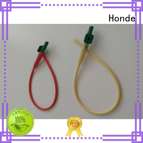 Honde tube latex catheter suppliers for clinic