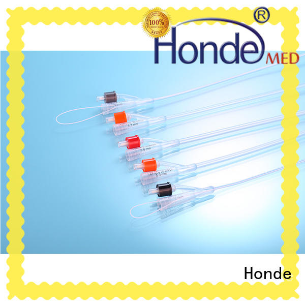 Honde professional three way catheter for women for clinic