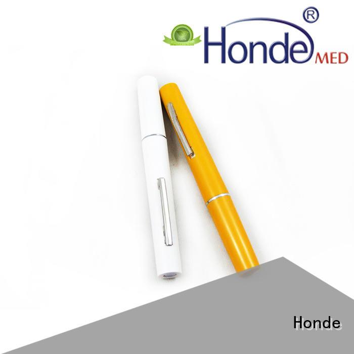 Honde pocket medical pen light suppliers for clinic