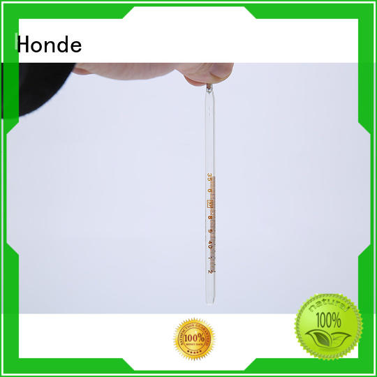 Honde oral mercury in glass thermometer for business for hospital