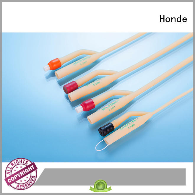 Honde closed foleys catheter manufacturers for laboratory
