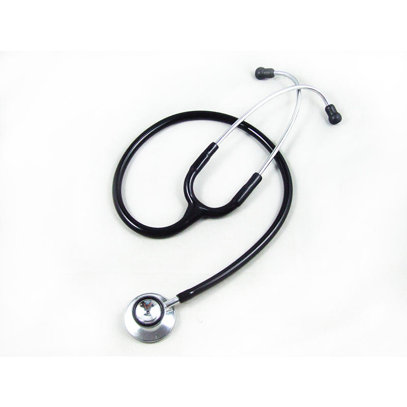 Dual head Stethoscope with inner spring binaural