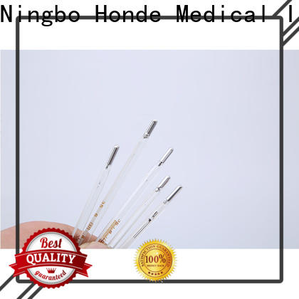 Honde clinical mercury thermometer factory for hospital