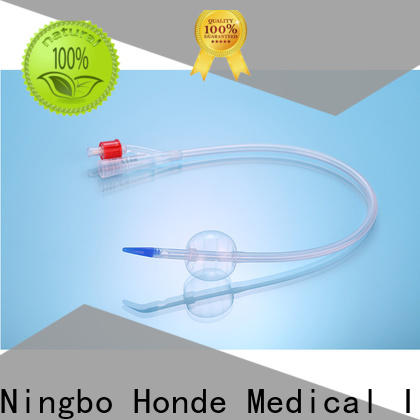 Honde New silicone foley catheter factory for laboratory