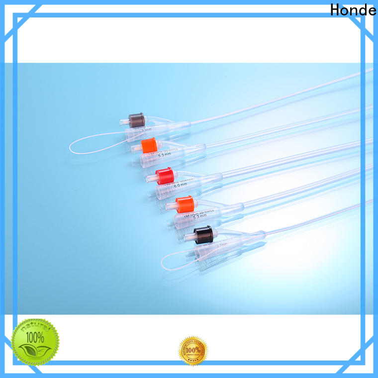 Honde Best foley urinary catheter suppliers for clinic