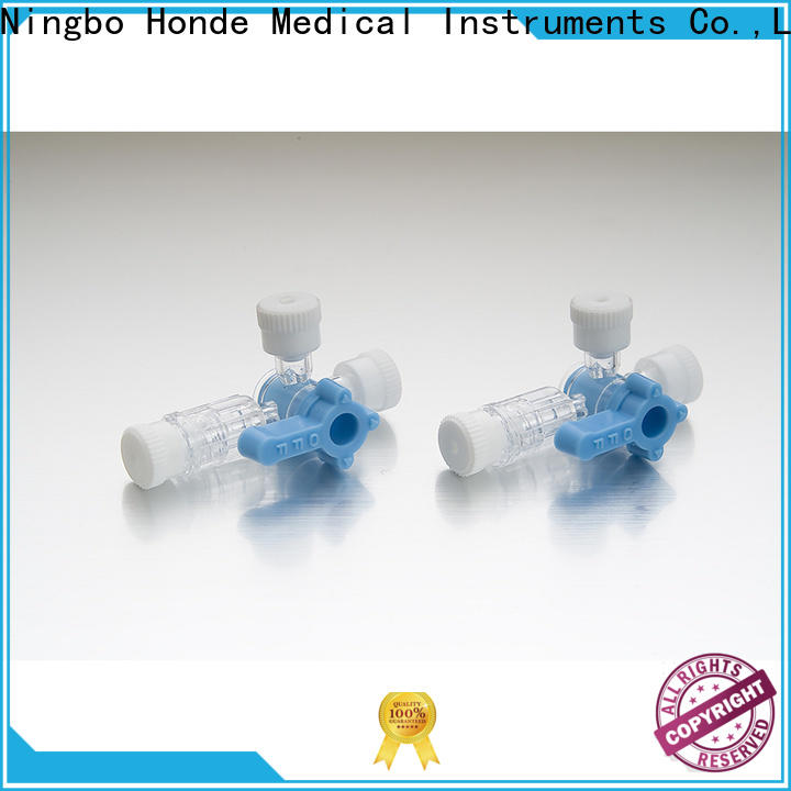 Honde stopcock infusion set company for clinic