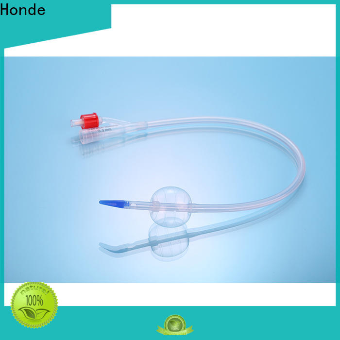 Honde hddis016f silicone foley catheter factory for clinic