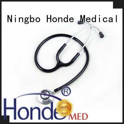 Dual head Stethoscope with inner spring binaural