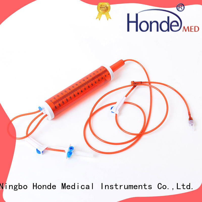 surgical hypodermic syringe manufacture for clinic