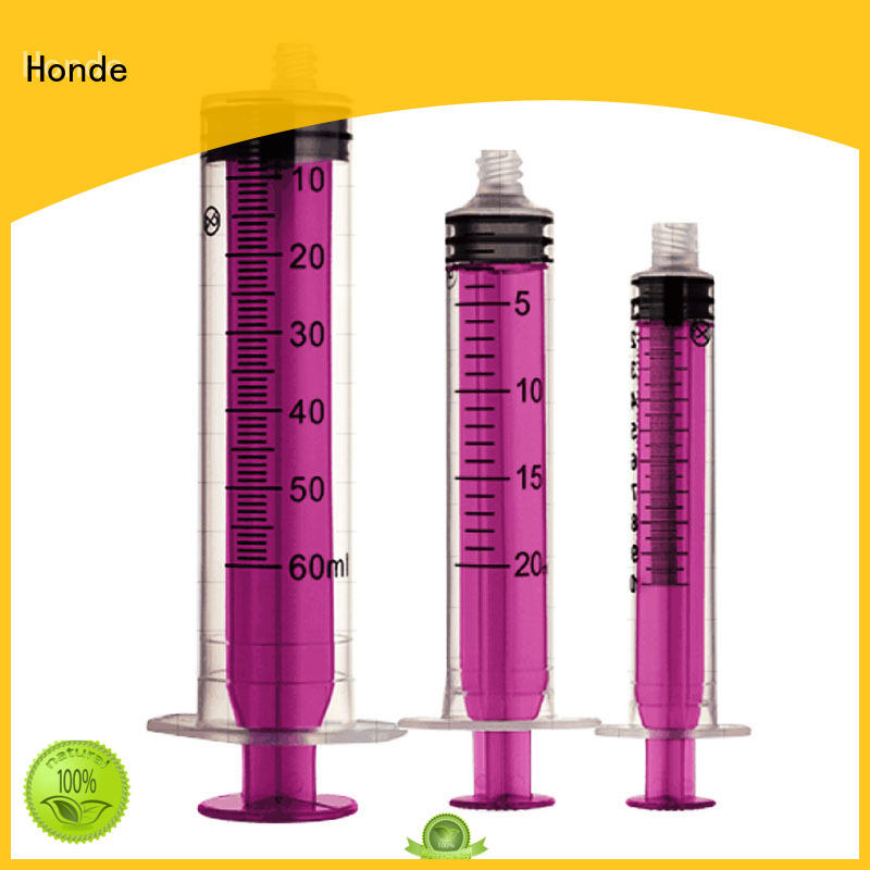 Honde needle hypodermic syringe manufacturers for medical office