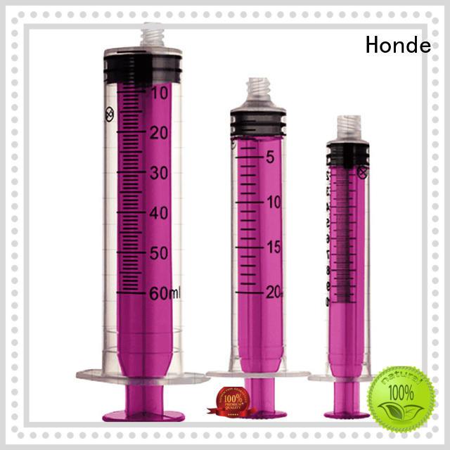 Wholesale parts disposable hypodermic syringe Honde Brand