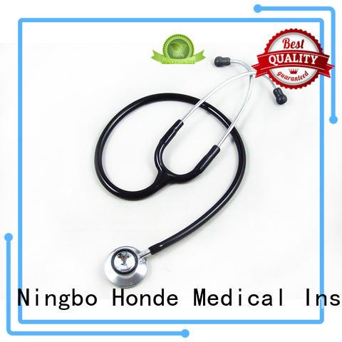 Honde single nurse stethoscope suppliers for laboratory