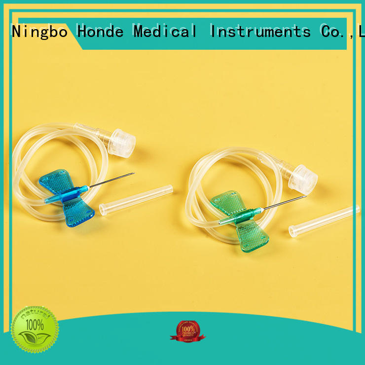 Honde needle scalp vein set factory for clinic