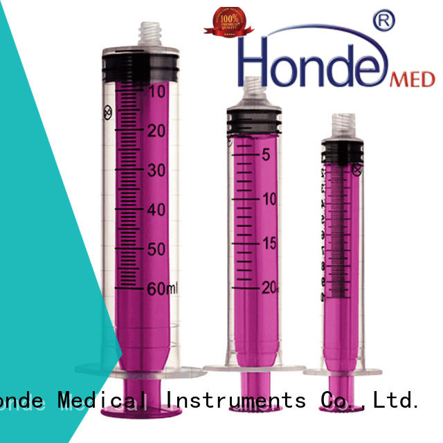 3 parts/2 parts Disposable Syringe