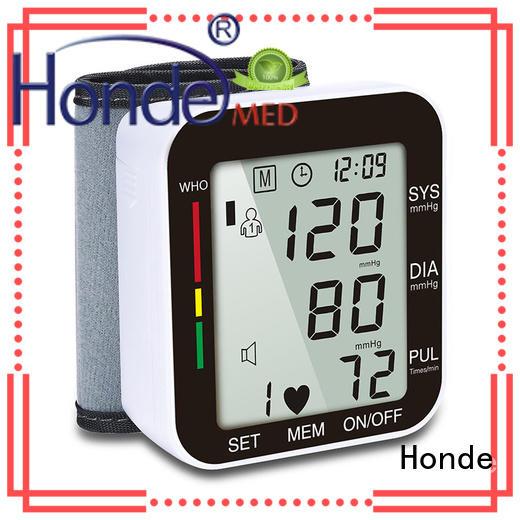 Honde Brand direct pupil home blood pressure sphygmomanometer