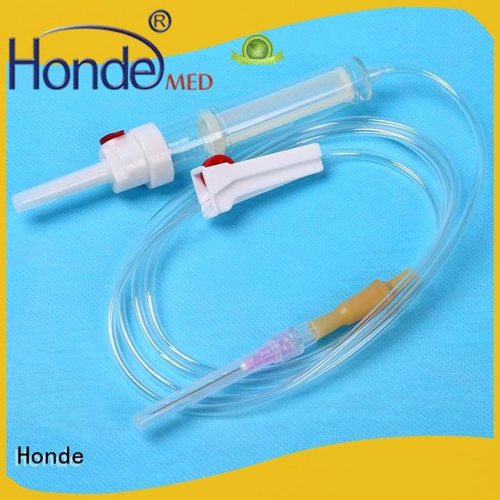 Honde high quality hypodermic needle syringe supply for first aid