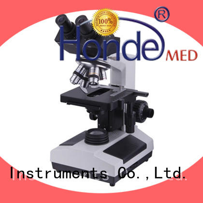Honde biological microscope optique supply for clinic