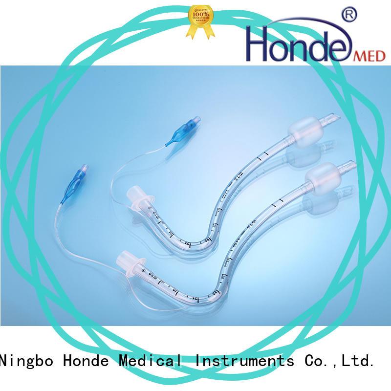 standard portex endotracheal tube reinforced Honde