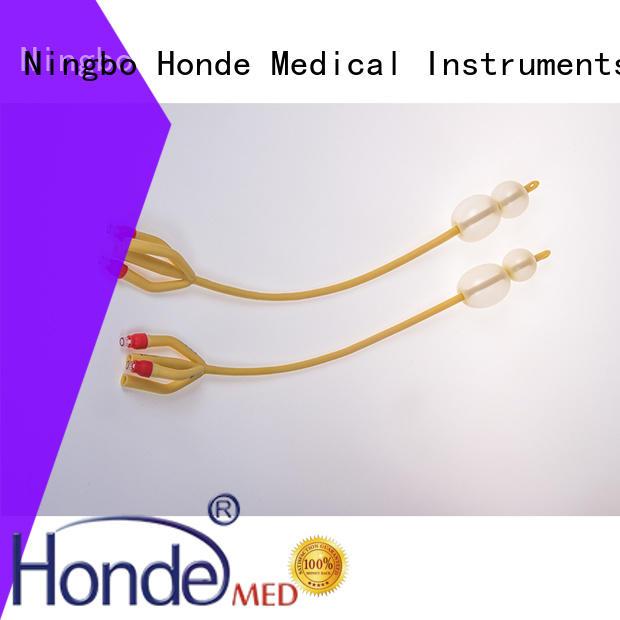 Honde silicone urethra catheter supply for hospital
