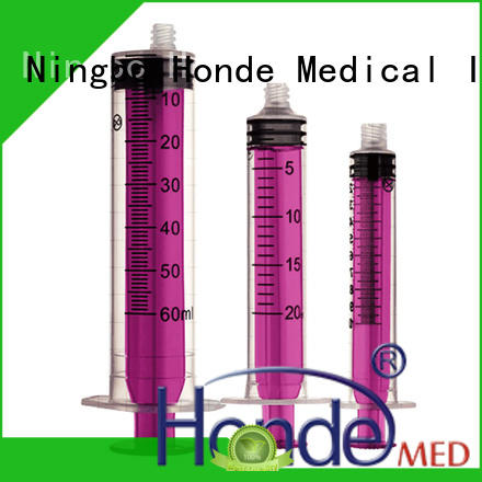 Honde hdhyp009 disposable syringe manufacturers for laboratory