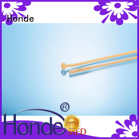 Honde silicone foley urinary catheter manufacturers for clinic