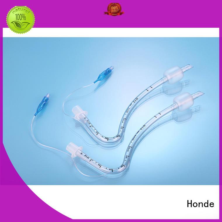 Honde endotracheal nasal endotracheal tube supply for hospital